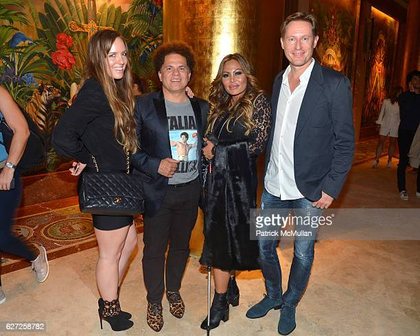 Kathreine Davis Romero Britto Orianne Collins and Thomas Nydahl attends The Viewing of 'CHARLIEWOOD' at FAENA Miami Beach Presented by Barrett...