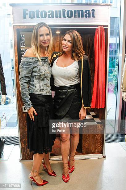 Kathrin Bruss and Sabia Boulahrouz attend the Petra Teufel GALA Fashion Night on May 20 2015 in Hamburg Germany