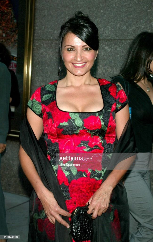 Kathrine Narducci during 'The Sopranos' 4th Season - Premiere at Radio City Music Hall in New York City, New York, United States.