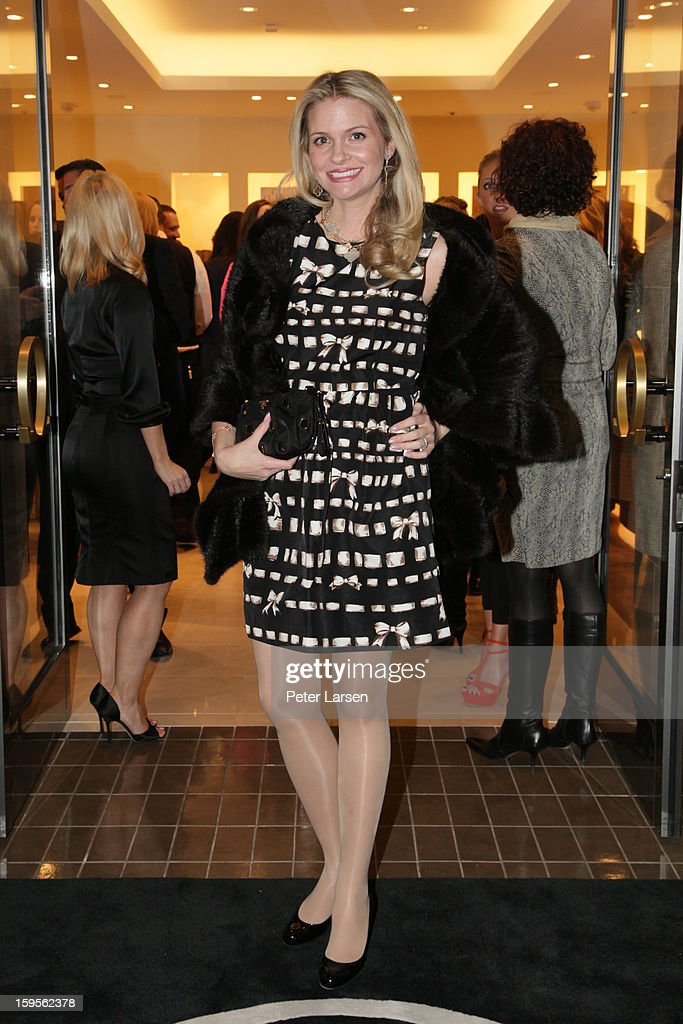 Kathryn Beach attends the Grand Opening of the Omega Boutique at NorthPark on January 15, 2013 in Dallas, Texas.