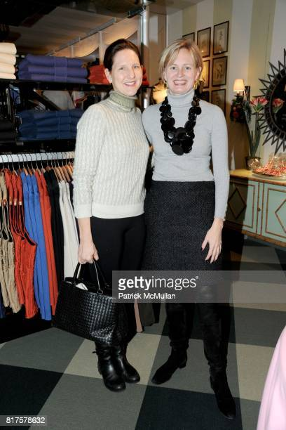 Kathryn Beal and Barbara McLaughlin attend Breakfast and Signing to Celebrate Jamee Gregory's New Book at J McLAUGHLIN STORE on Madison Ave on...