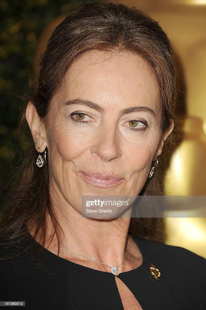 Kathryn Bigelow arrives at the The Academy Of Motion Pictures Arts And Sciences' Governors Awards at The Ray Dolby Ballroom at Hollywood & Highland Center on December 1, 2012 in Hollywood, California.