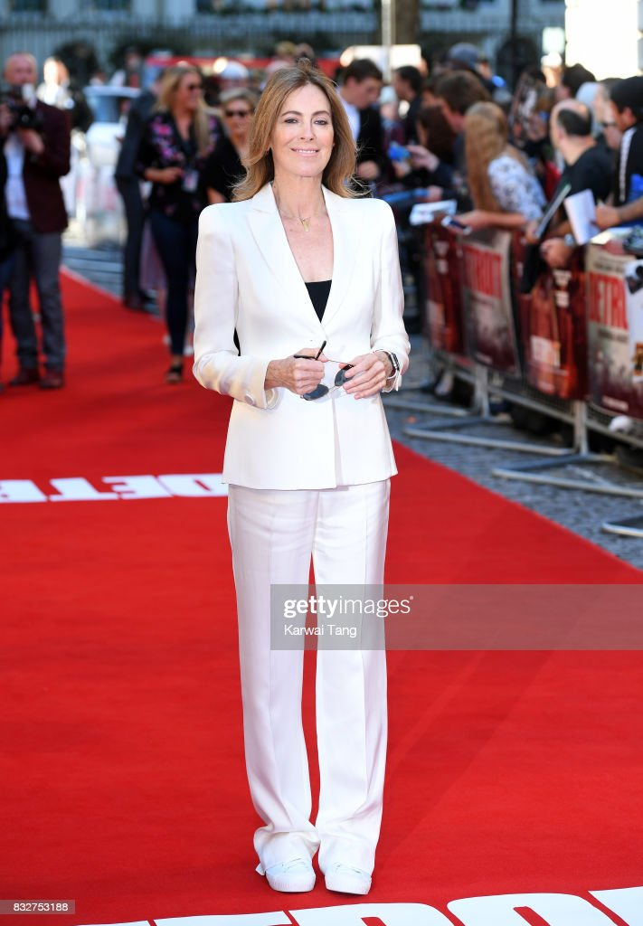 Kathryn Bigelow arrives for the European Premiere of 'Detroit' at The Curzon Mayfair on August 16, 2017 in London, England.