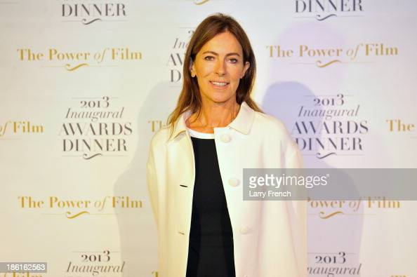 Kathryn Bigelow attends the 2013 America Abroad Media Awards Dinner at Andrew W Mellon Auditorium on October 28 2013 in Washington DC