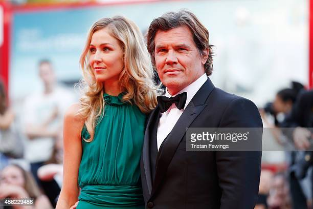 Kathryn Boyd and Josh Brolin attend the opening ceremony and premiere of 'Everest' during the 72nd Venice Film Festival on September 2 2015 in Venice...