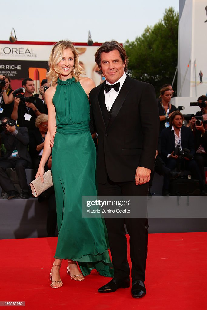 Kathryn Boyd and Josh Brolin attend the opening ceremony and premiere of 'Everest' during the 72nd Venice Film Festival on September 2, 2015 in Venice, Italy.