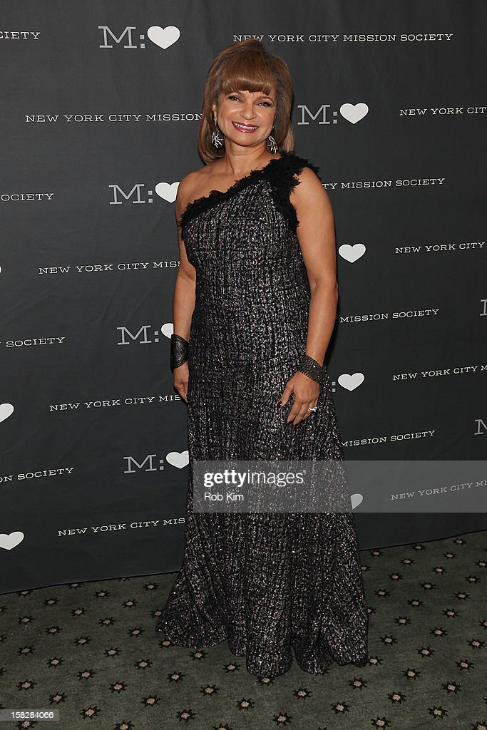 Kathryn C. Chenault attends the 200th Anniversary New York City Mission Society Gala Dinner at The Pierre Hotel on December 12, 2012 in New York City.
