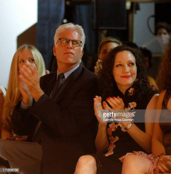 Kathryn Danson Ted Danson and Bebe Neuwirth during The Winners of the 6th Annual More Magazine Wilhelmina 40 Model Search at Cipriani in New York...