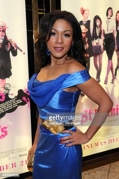 Kathryn Drysdale arrives for the World Premiere of St Trinian's at the Empire in Leicester Square London