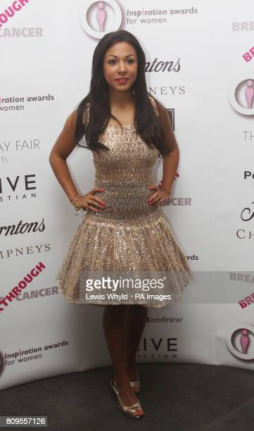 Kathryn Drysdale at The Inspiration Awards for Women in London that raises money for Breakthrough Breast Cancer