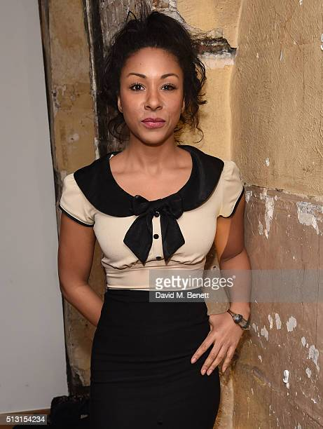 Kathryn Drysdale attends for Gala Night after party for 'The Maids' at the Adam Street Club on February 29 2016 in London England