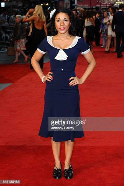 Kathryn Drysdale attends the World Premiere of Anna Karenina on September 4 2012 at the Odeon Cinema Leicester Square in London