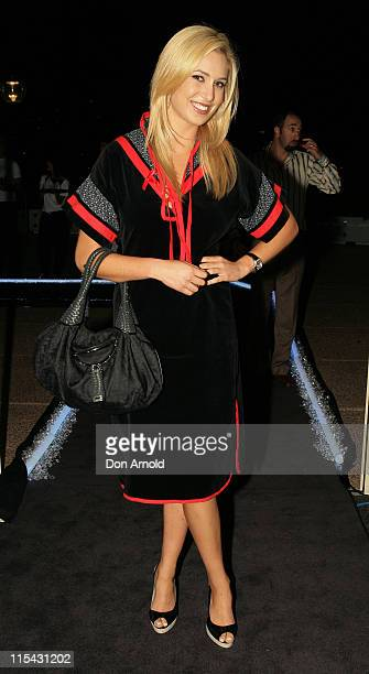 Kathryn Eisman during Fashion TV and Red Ribbon Charity Gala at Sydney Opera House in Sydney NSW Australia
