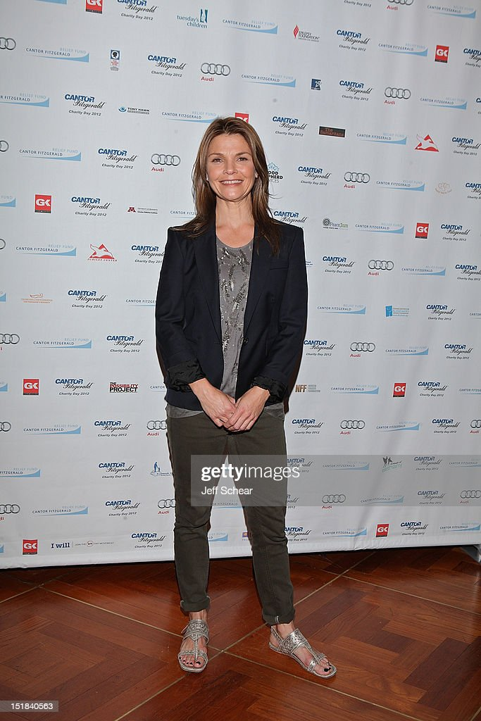 Kathryn Erbe attends Annual Charity Day Hosted By Cantor Fitzgerald And BGC Partners on September 11, 2012 in New York, United States.