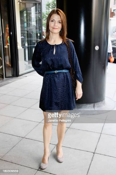 Kathryn Erbe attends the Annual Charity Day Hosted By Cantor Fitzgerald And BGC at the Cantor Fitzgerald Office on September 11 2013 in New York...