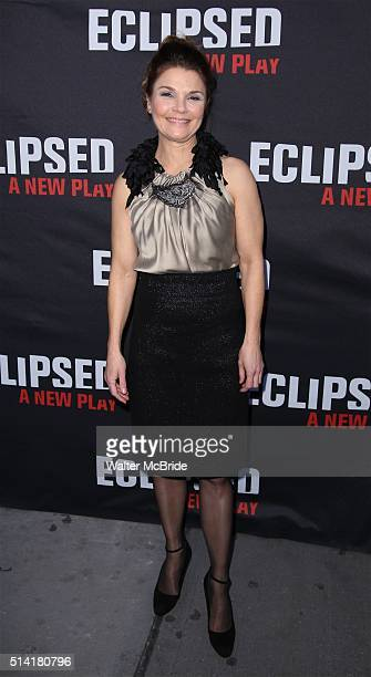 Kathryn Erbe attends the Broadway Opening Night Performance of 'Eclipsed' at Golden Theatre on March 6 2016 in New York City