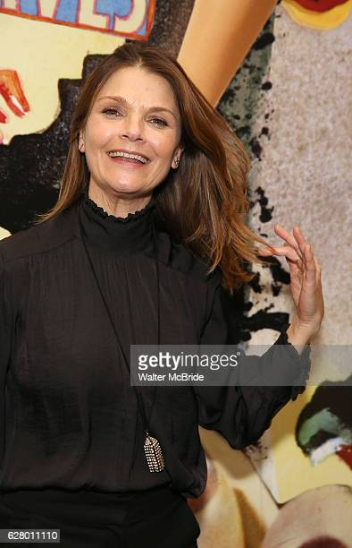 Kathryn Erbe attends the press reception for the Opening Night of the Lincoln Center Theater Production of 'The Babylon Line' at the Mitzi E Newhouse...