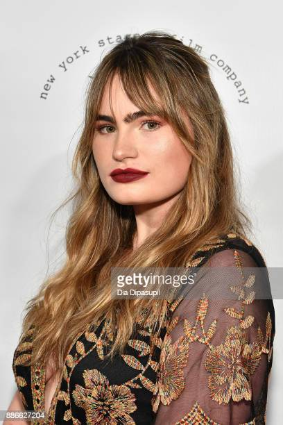 Kathryn Gallagher attends the 2017 New York Stage Film Winter Gala at Pier Sixty at Chelsea Piers on December 5 2017 in New York City