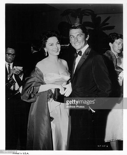 Kathryn Grayson and Robert Evans circa 1955