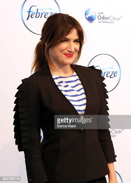 Kathryn Hahn appears to help launch the 'I Love You But Sometimes You Stink' Febreeze Campaign at The IAC Building on January 26 2017 in New York City