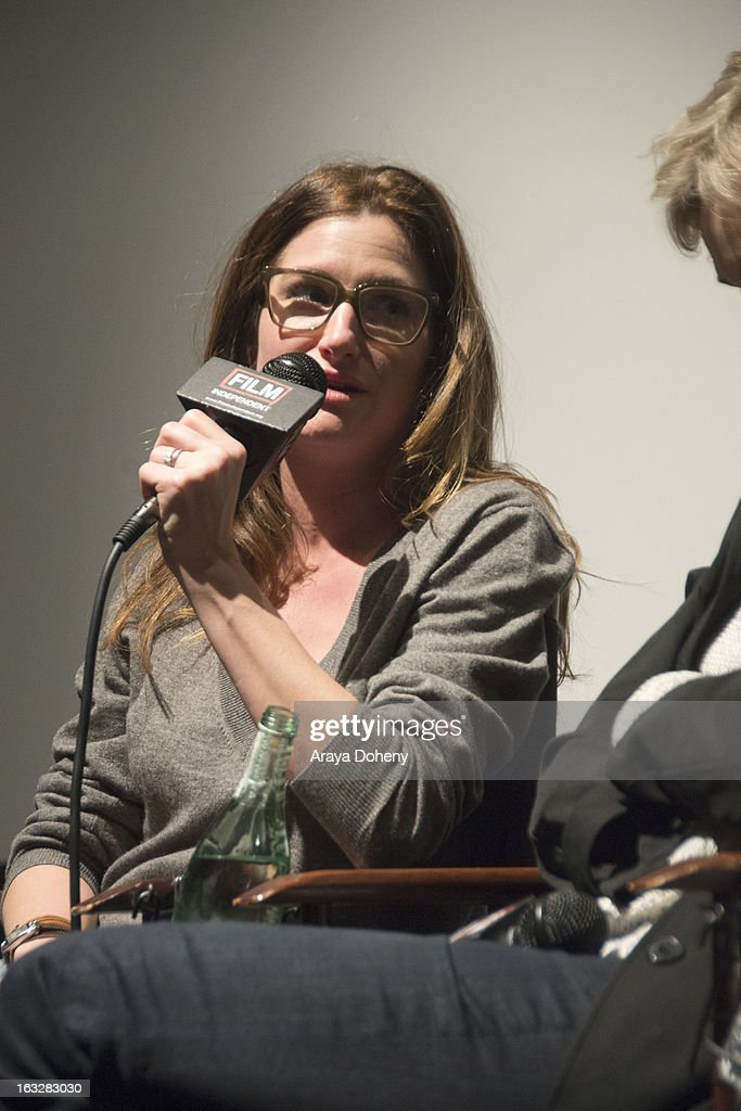 <a gi-track='captionPersonalityLinkClicked' href=/galleries/search?phrase=Kathryn+Hahn&family=editorial&specificpeople=221548 ng-click='$event.stopPropagation()'>Kathryn Hahn</a> attends the Film Independent Directors Close-Up 2013 - The Actors: Getting Great Performances at Landmark Nuart Theatre on March 6, 2013 in Los Angeles, California.