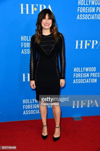 Kathryn Hahn attends the Hollywood Foreign Press Association's Grants Banquet at the Beverly Wilshire Four Seasons Hotel on August 2 2017 in Beverly...