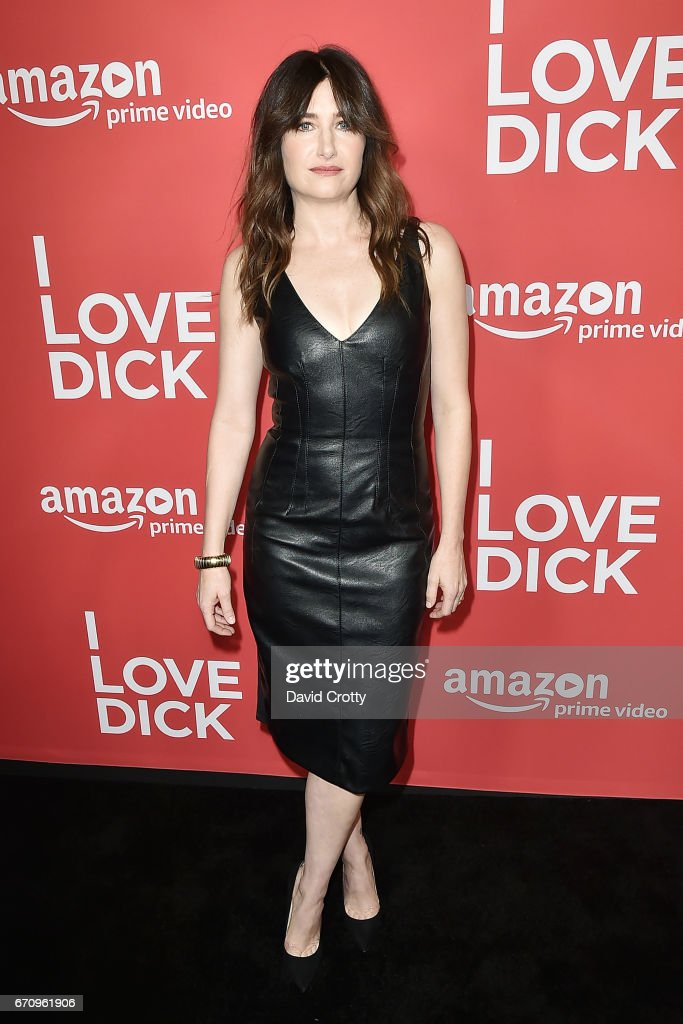 Kathryn Hahn attends the Premiere Of Amazon's 'I Love Dick' - Arrivals on April 20, 2017 in Los Angeles, California.