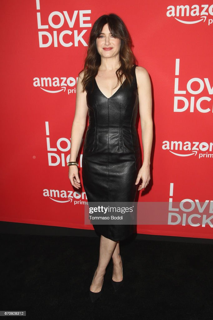 Kathryn Hahn attends the Premiere Of Amazon's 'I Love Dick' at Linwood Dunn Theater on April 20, 2017 in Los Angeles, California.