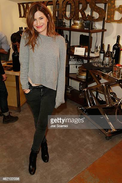 Kathryn Hahn attends The Variety Studio At Sundance Presented By Dockers Day 1 on January 24 2015 in Park City Utah