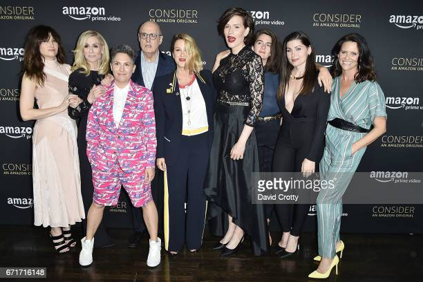 Kathryn Hahn Judith Light Jill Soloway Jeffrey Tambor Alanis Morissette Our Lady J Gaby Hoffman Trace Lysette and Amy Landecker attend Amazon Prime...