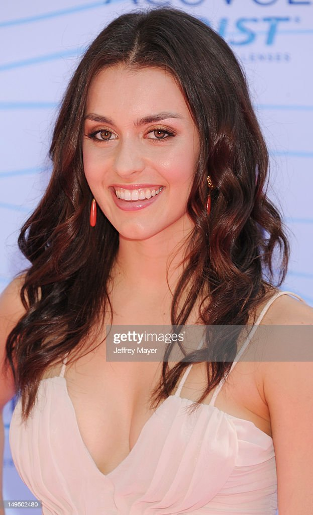 Kathryn McCormick arrives at the 2012 Teen Choice Awards at Gibson Amphitheatre on July 22, 2012 in Universal City, California.