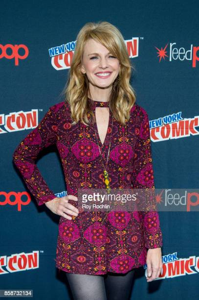 Kathryn Morris attends the Reverie press room during 2017 New York Comic Con Day 3 on October 7 2017 in New York City