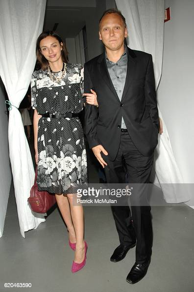 Kathryn Neale and Sam Shaffer attend LA MER and OCEANA Party for WORLD OCEAN DAY 2008 at 620 Loft Garden on June 4 2008 in New York City