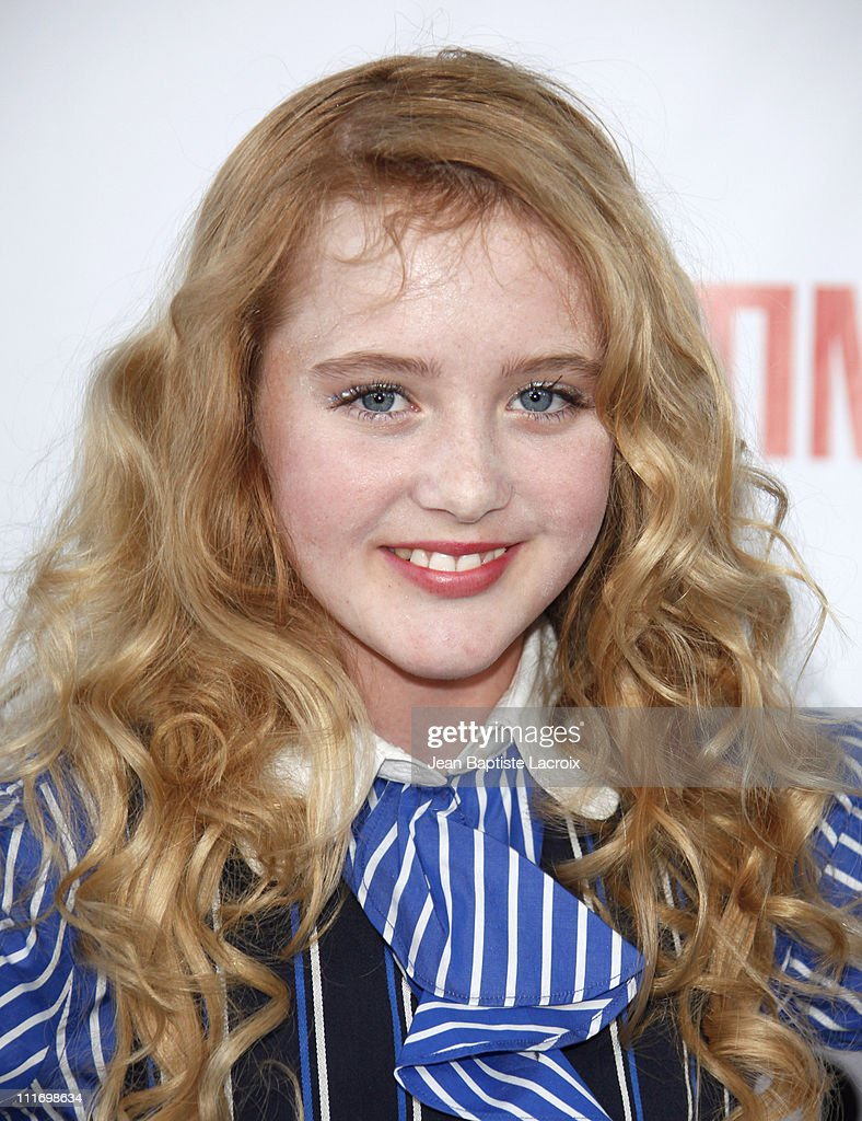 Kathryn Newton arrives at the NBC and Universal's 2009 TCA Press Tour All-Star Party at the Huntington Library on August 3, 2009 in Pasadena, California.