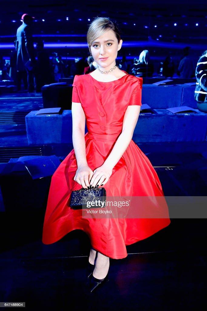 Christian Dior : Front Row  - Paris Fashion Week Womenswear Fall/Winter 2017/2018