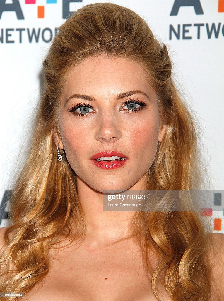 Kathryn Winnick attends A&E Networks 2013 Upfront at Lincoln Center on May 8, 2013 in New York City.