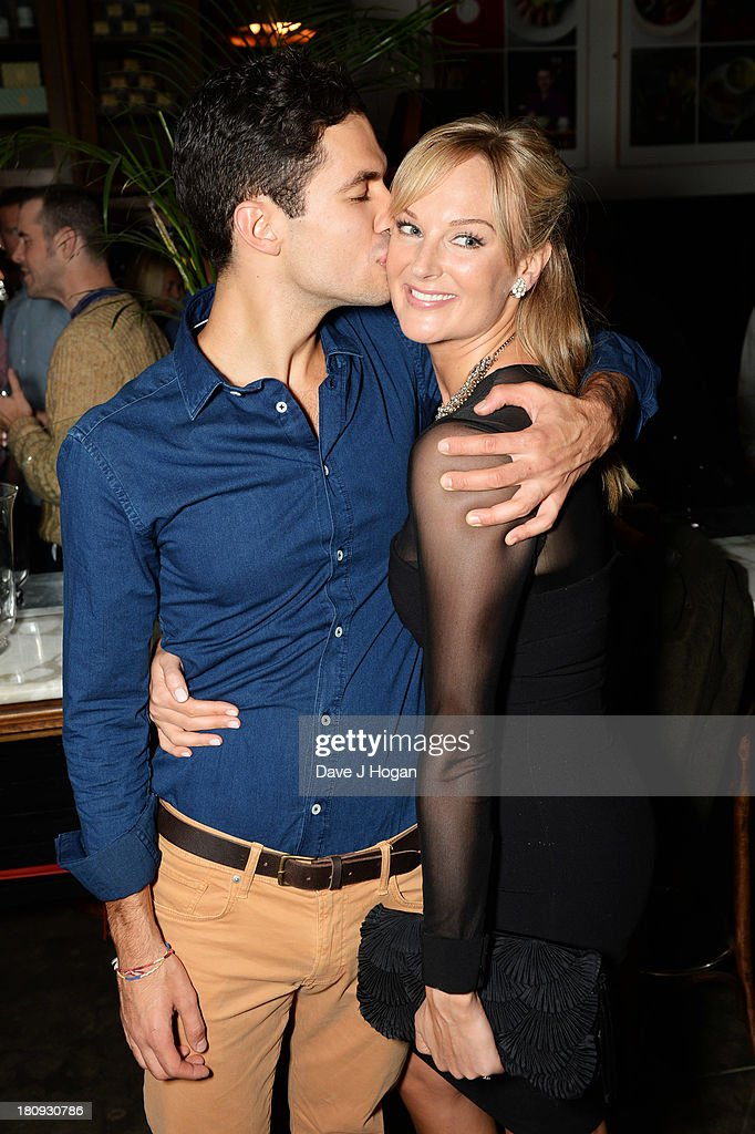 Kathryne Kingsley and Stefano Braschi attend the afterparty for Midsummer Nights Dream at The National Gallery on September 17, 2013 in London, England.