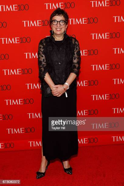 Kathy Abbott attends the 2017 Time 100 Gala at Jazz at Lincoln Center on April 25 2017 in New York City