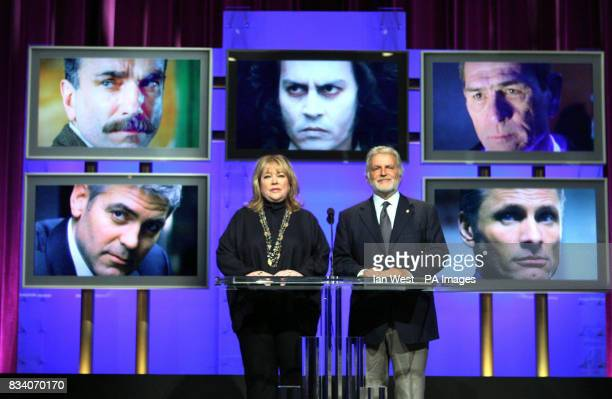 Kathy Bates and Sid Ganis The President of the Academy of Motion Picture Arts and Sciences announce the 80th Academy Award Nominations for Best Actor...