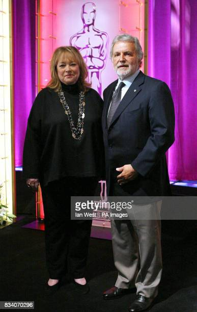 Kathy Bates and Sid Ganis The President of the Academy of Motion Picture Arts and Sciences announce the 80th Academy Award Nominations from the...