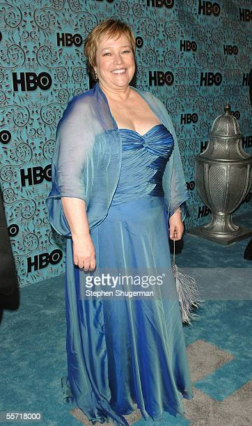 Kathy Bates arrives at the HBO Emmy after party held atThe Plaza at the Pacific Design Center on September 18 2005 in West Hollywood California