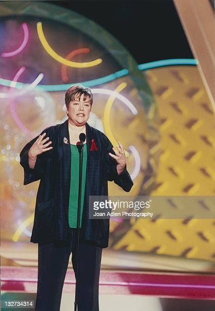 Kathy Bates at the American Comedy Awards on February 9 1997 at the Shrine Auditorium in Los Angeles California