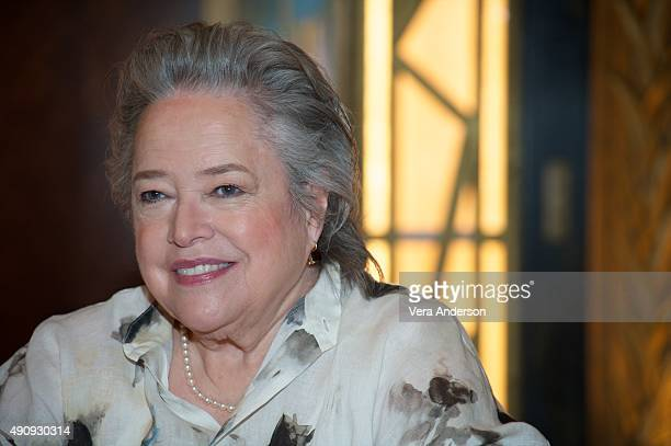 Kathy Bates at the 'American Horror Story Hotel' Press Conference at Fox Studio Lot on October 1 2015 in Century City California