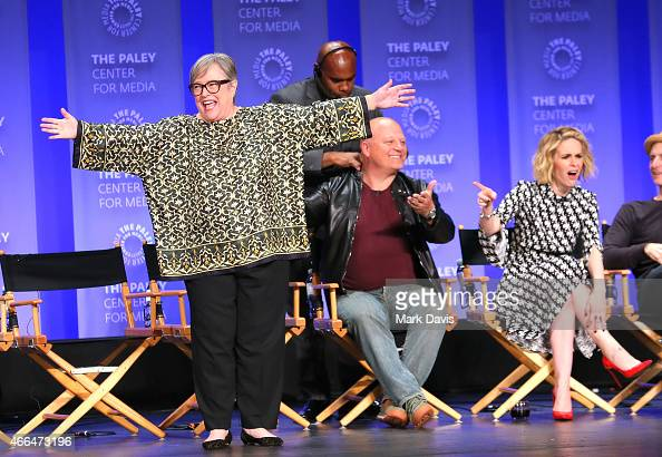 Kathy Bates Michael Chiklis and Sarah Paulson attend The Paley Center for Media's 32nd annual PALEYFEST LA 'American Horror Story Freak Show' at...