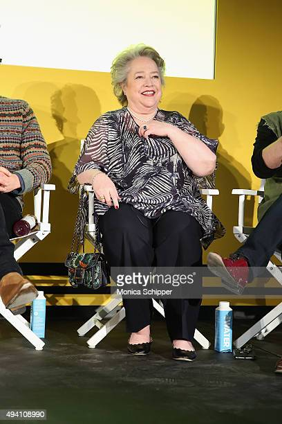 Kathy Bates speaks onstage during Entertainment Weekly's first ever 'EW Fest' presented by LG OLED TV on October 24 2015 in New York City