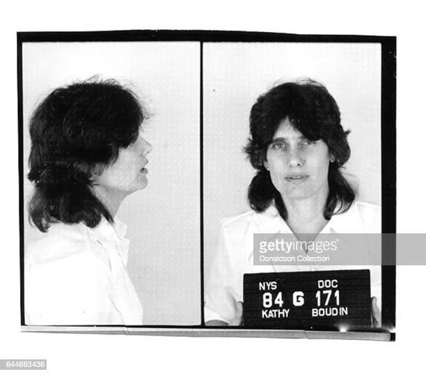 Kathy Boudin a former member of the radical Weather Underground mug shot in 1981