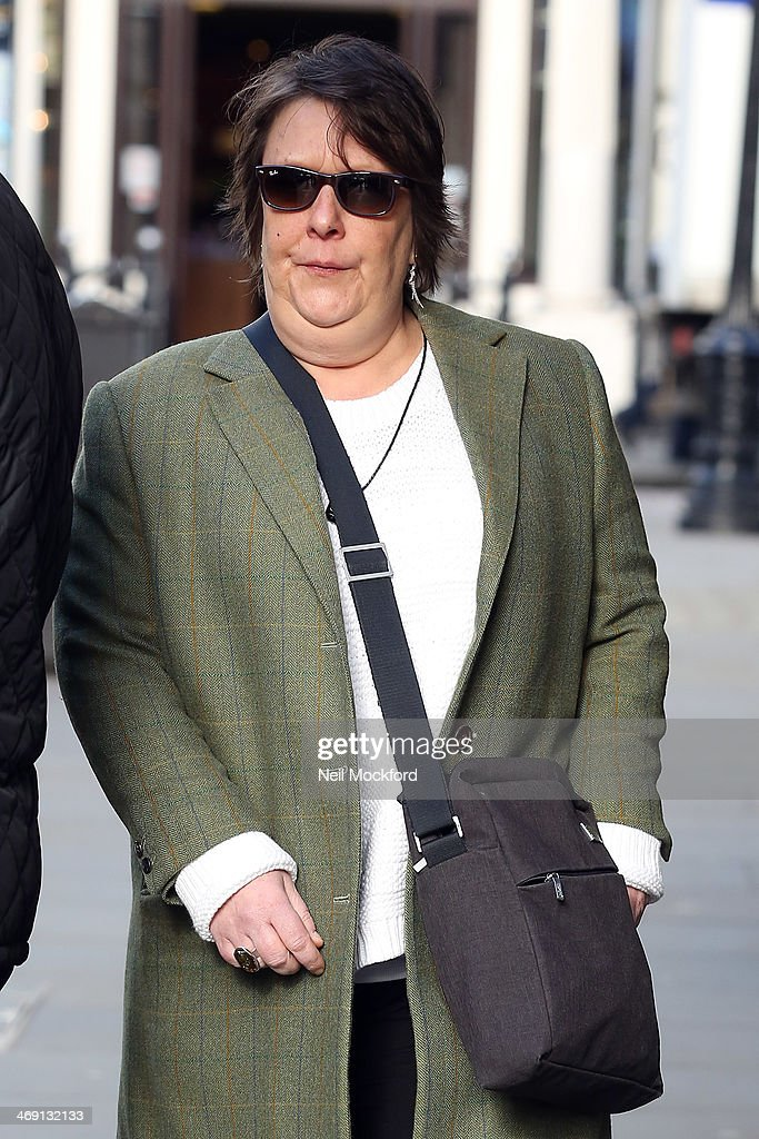 Kathy Burke attends the funeral of Roger Lloyd-Pack at St Paul's Church in Covent Garden on February 13, 2014 in London, England.