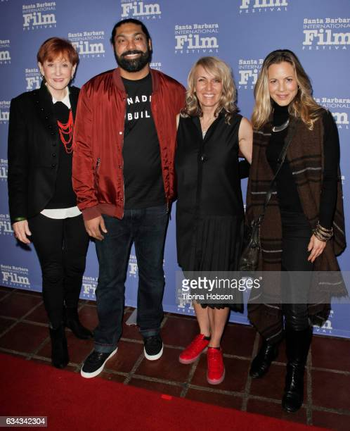 Kathy Eldon Gugun Deep Singh Bronwen Hughes and Maria Bello attend the 32nd Santa Barbara International Film Festival Montecito Tribute at Arlington...