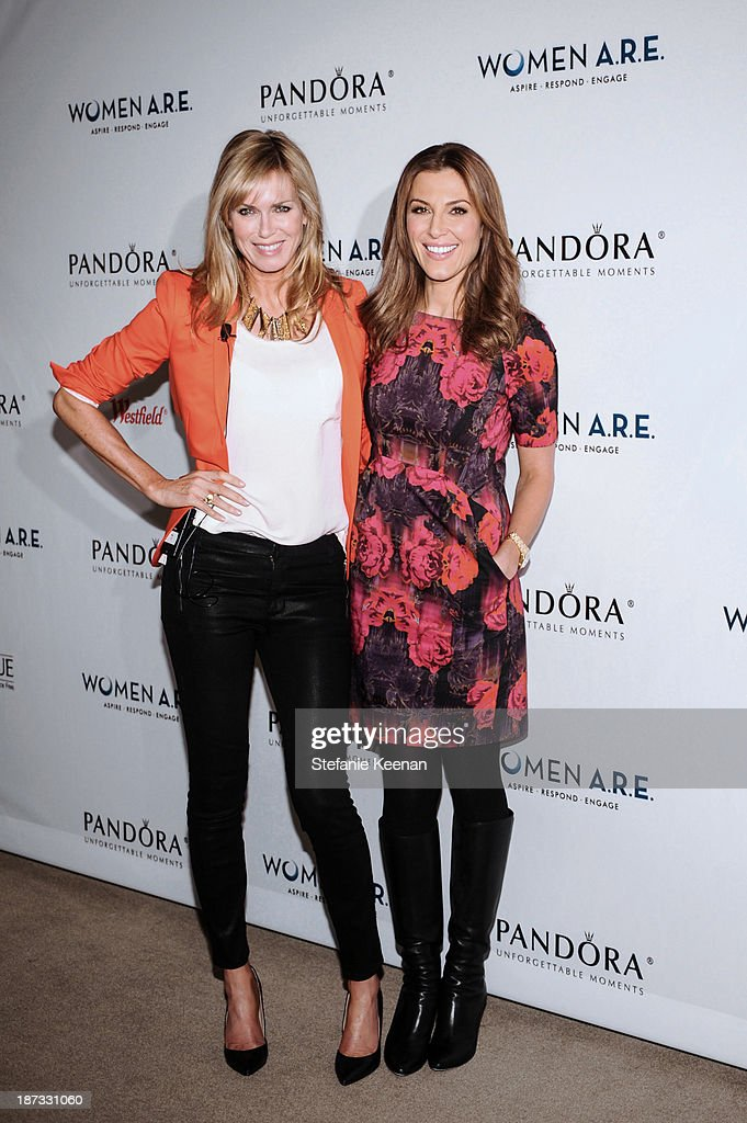 Kathy Freston and Thea Andrews attends WOMEN A.R.E Inaugural Summit Presented By PANDORA at SLS Hotel on November 7, 2013 in Beverly Hills, California.