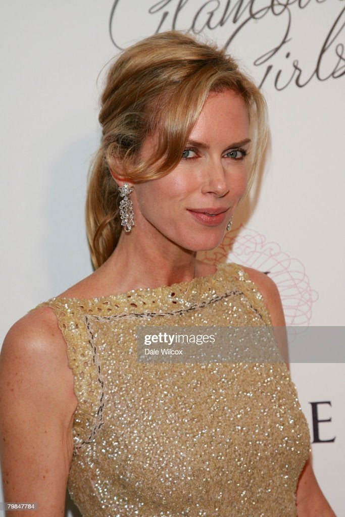 Kathy Freston attends the book release party for Patrick McMullan's 'Glamour Girls' at The Terrace at the Sunset Tower Hotel in West Hollywood, California on February 19, 2008.